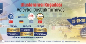Kuşadası Uluslararası Voleybol Turnuvasına Ev Sahipliği Yapacak