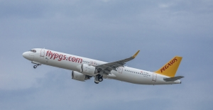 Pegasus'un ilk A321 Neo Tipi Uçağı Filoya Katıldı