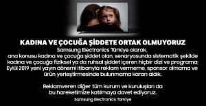 Samsung Konusu Kadına Ve Çocuğa Şiddet Olan Dizilere Reklam Vermeme Hareketini Başlattı