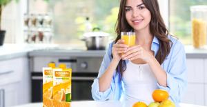 Yüzde 100 Meyve Suyu İçen Çocuklar Daha Çok Meyve Sebze Yiyor