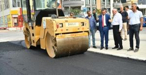 Başkan Çetin'den Asfalt Denetimi