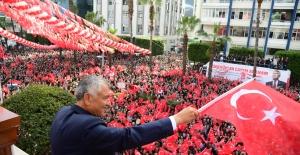 """Başkan Karalar, """"Cumhuriyet İlelebet Payidar Kalacaktır"""""""
