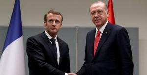 Cumhurbaşkanı Erdoğan, Fransa Cumhurbaşkanı Macron İle Telefonla Görüştü