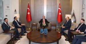 Cumhurbaşkanı Erdoğan, Katar Başbakan Yardımcısı ve Dışişleri Bakanı Sani'yi Kabul Etti