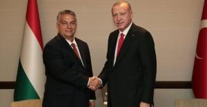 Cumhurbaşkanı Erdoğan, Macaristan Başbakanı Orban İle Görüştü