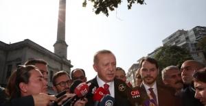 """Cumhurbaşkanı Erdoğan: """"Şu Andan İtibaren 120 Saatlik Bir Süreç İşliyor"""""""