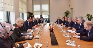 Cumhurbaşkanlığı Sözcüsü Kalın, Rusya Federasyonu Suriye Özel Temsilcisi Lavrentyev'i Kabul Etti