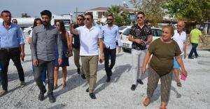 Kuşadası Belediyesi, Güzelçamlı Mahallesi'nde Asfalt Yol Yapım Çalışmalarını Tamamladı