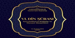"""""""6. Din Şurası"""" 25 Kasım'da Ankara'da Başlayacak"""