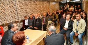 """Başkan Çetin: """"Ne Söz Verdiysek Yerine Getireceğiz"""""""