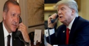 Cumhurbaşkanı Erdoğan, ABD Başkanı Trump İle Telefonda Görüştü