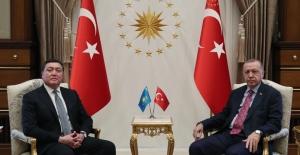 Cumhurbaşkanı Erdoğan, Kazakistan Başbakanı Mamin İle Görüştü