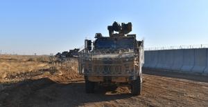 Fırat'ın Doğusunda Dokuzuncu Ortak Kara Devriyesi Tamamlandı