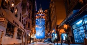 Galata Kulesi Diyabete Dikkat Çekmek Mavi Renge Bürünecek