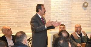"""Başkan Çetin: """"Her Zaman Halkımızın Yanındayız"""""""