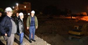"""Başkan Çetin: """"Yüzüncüyıl Mahallesi'ni Modern Bir Semt Pazarına Kavuşturacağız"""""""