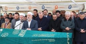 Cumhurbaşkanı Erdoğan, Nusret Yıldırım'ın Cenaze Törenine Katıldı