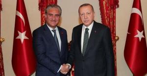 Cumhurbaşkanı Erdoğan, Pakistan Dışişleri Bakanı Kureyşi İle Görüştü