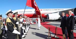 Cumhurbaşkanı Erdoğan Tunus#039;ta