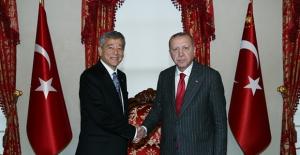 Cumhurbaşkanı Erdoğan, Türk Eczacılar Birliği Başkanı Çolak'ı Kabul Etti