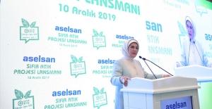 """Emine Erdoğan: """"Sıfır Atık Uygulamasıyla 100 Bin İstihdam Hedefliyoruz"""""""