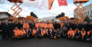 Karayolları Genel Müdürlüğünün Yeni Araçları Hizmete Alındı