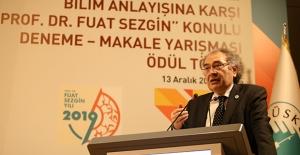 """Prof. Dr. Nevzat Tarhan: """"Biz Rönesansın Gerçek Yüzünü Prof. Dr. Fuat Sezgin Sayesinde Öğrendik"""