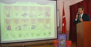 """Başkan Çetin: """"Geri Dönüşüm Sektörü Çok Önemli Bir Görev Yapıyorlar"""""""