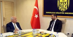 Başkan Yaşar Ankaragücü'nde