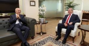 Başkan Yavaş'tan Fethi Yaşar'a Ziyaret