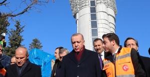 Cumhurbaşkanı Erdoğan, Çamlıca Kulesi'nde İncelemelerde Bulundu