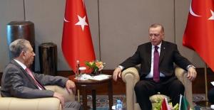 Cumhurbaşkanı Erdoğan, Cezayir Millet Konseyi Başkanı Goudjil'i Kabul Etti