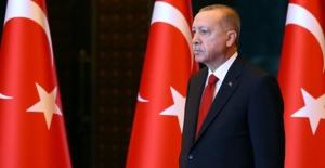 Cumhurbaşkanı Erdoğan, Tunus Meclis Başkanı Raşid El-Gannuşi'yi Kabul Etti