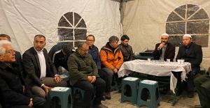 Feyzioğlu'ndan Şehit Teğmen Sinan Bilir'in Ailesine Taziye Ziyareti