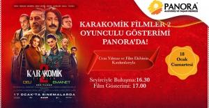 """""""Karakomik Filmler 2"""" Oyunculu Gösterimi Panora'da!"""