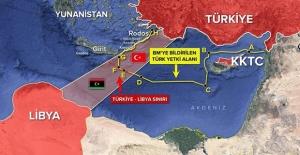 """""""Libya Ve Doğu Akdeniz'de Güvenlik Ve Barışın Korunması İçin Bütün Gücümüzü Sarf Etmeye Devam Edeceğiz"""""""
