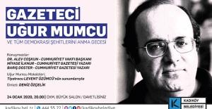 Uğur Mumcu Kadıköy'de Anılıyor