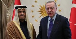 Cumhurbaşkanı Erdoğan, Katar Başbakan Yardımcısı Ve Dışişleri Bakanı Şeyh Muhammed Al Thani'yi Kabul Etti