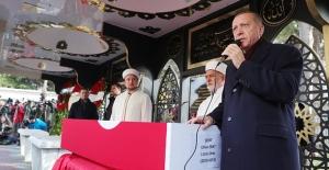 Cumhurbaşkanı Erdoğan, Şehit Jandarma Uzman Onbaşı Cihan Erat'ın Cenaze Törenine Katıldı