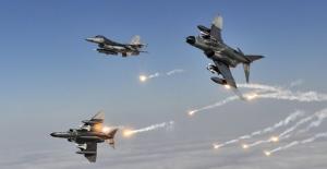 Kuzey Irak'a Hava Operasyonu: 6 Terörist Etkisiz Hale Getirildi