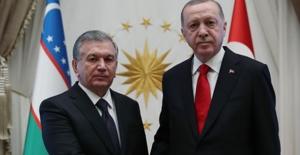 Özbekistan Cumhurbaşkanı Mirziyoyev, Cumhurbaşkanlığı Külliyesinde