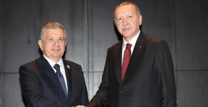 Özbekistan Cumhurbaşkanı Mirziyoyev...