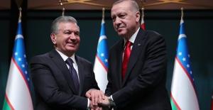 """""""Özbekistan İle Ticaret Hacmimizi 5 Milyar Dolara Çıkarmayı Hedefliyoruz"""""""