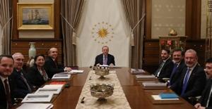 Türkiye Varlık Fonu A.Ş. Yönetim Kurulu Cumhurbaşkanı Erdoğan Başkanlığında Toplandı