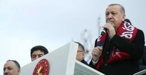 """""""Vatan-Millet Sevdasıyla, Türkiye Aşkıyla Gece Gündüz Demeden Çalışıyoruz"""""""
