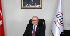 """ATO Başkanı Baran, """"Bu Dönemin En Az Zararla Atlatılması İçin Üyelerimizin Yanındayız"""""""
