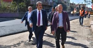 """Başkan Çetin: """"Çukurova'da Asfaltsız Yol Bırakmayacağız"""""""