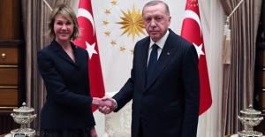 Cumhurbaşkanı Erdoğan, ABD Birleşmiş Milletler Daimi Temsilcisi Craft'ı Kabul Etti