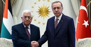 Cumhurbaşkanı Erdoğan, Filistin Devlet Başkanı Abbas İle Telefonda Görüştü