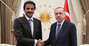 Cumhurbaşkanı Erdoğan, Katar Emiri es-Sani İle Telefonda Görüştü